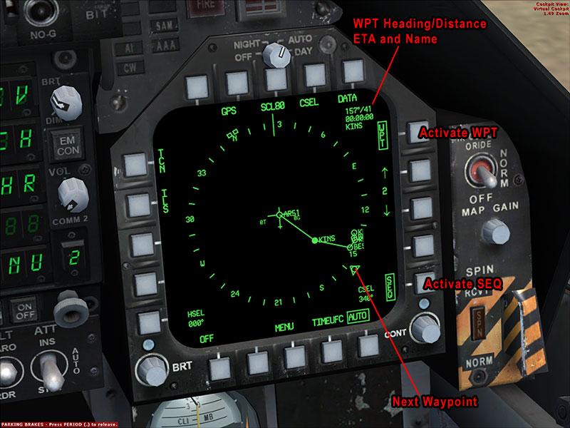 F/A-18 Flight Planning tutorial