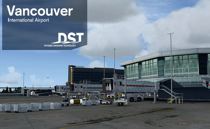 FSDreamTeam - Vancouver International Airport scenery for FSX