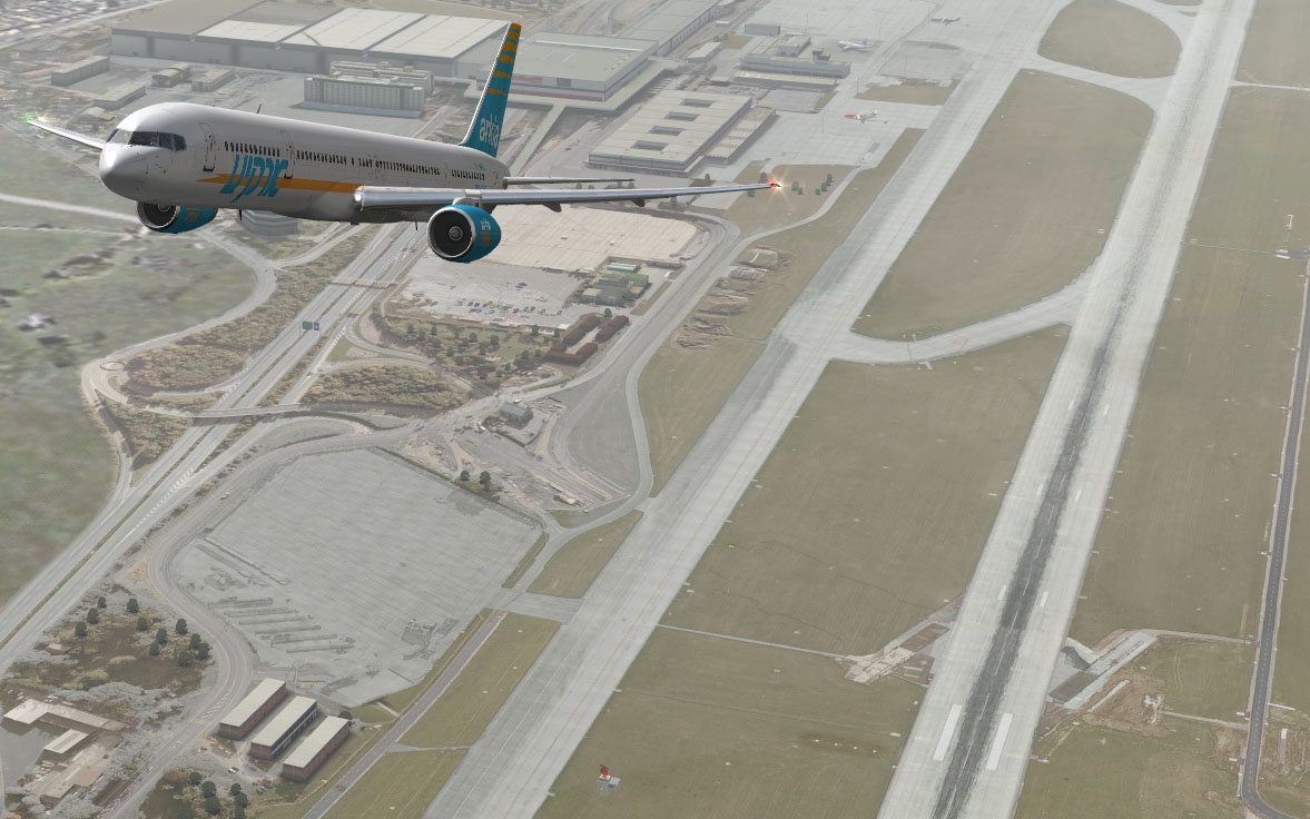 FSDreamTeam - Geneva airport scenery for FSX and FS9