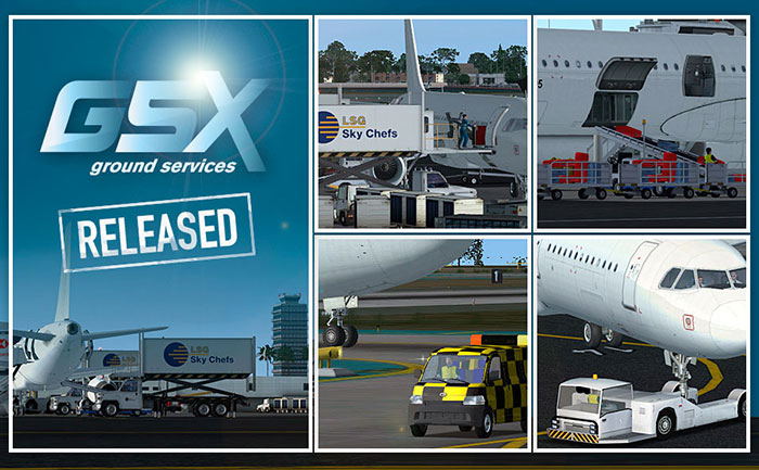 FSDreamTeam - GSX Ground Services X for Microsoft Flight