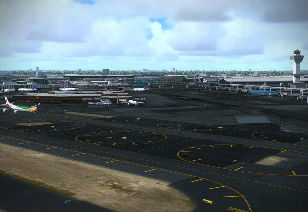 FSDreamTeam - New York airport scenery for FSX and Prepar3D