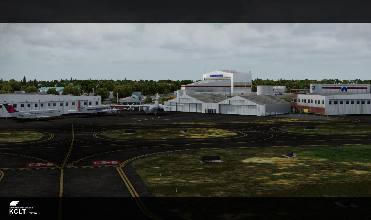 FSDreamTeam - Charlotte Douglas International Airport scenery for