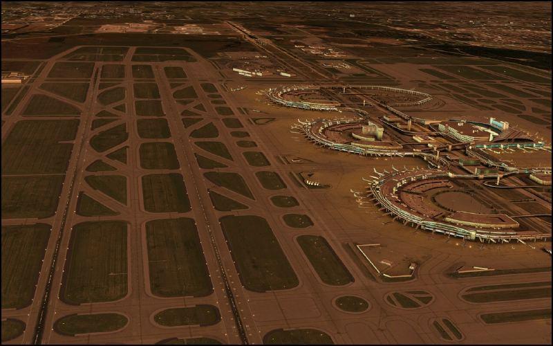 FSDreamTeam - Dallas/Fort-Worth airport scenery for FSX and FS9