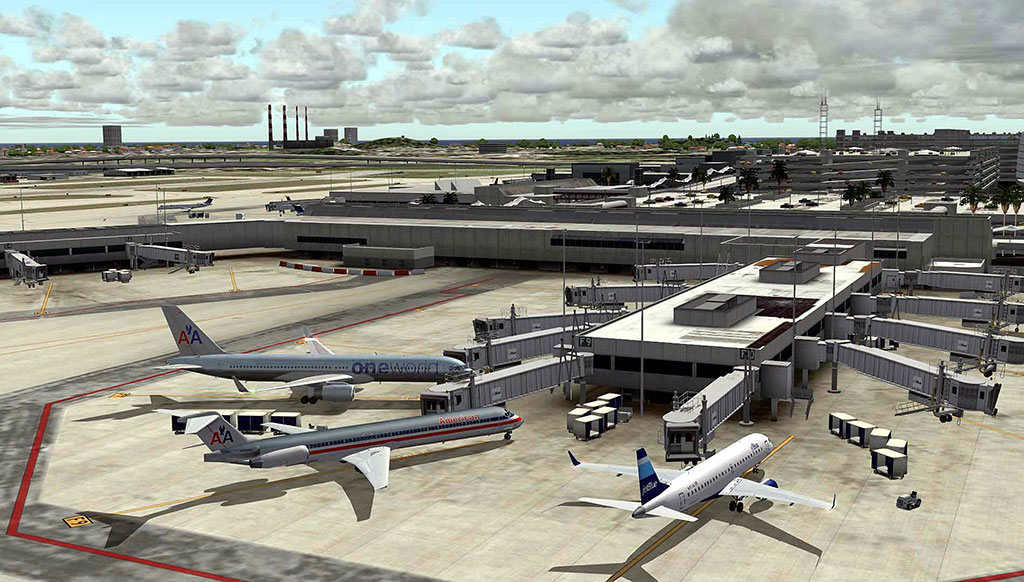 FSDreamTeam - Fort Lauderdale airport scenery for FSX and FS9