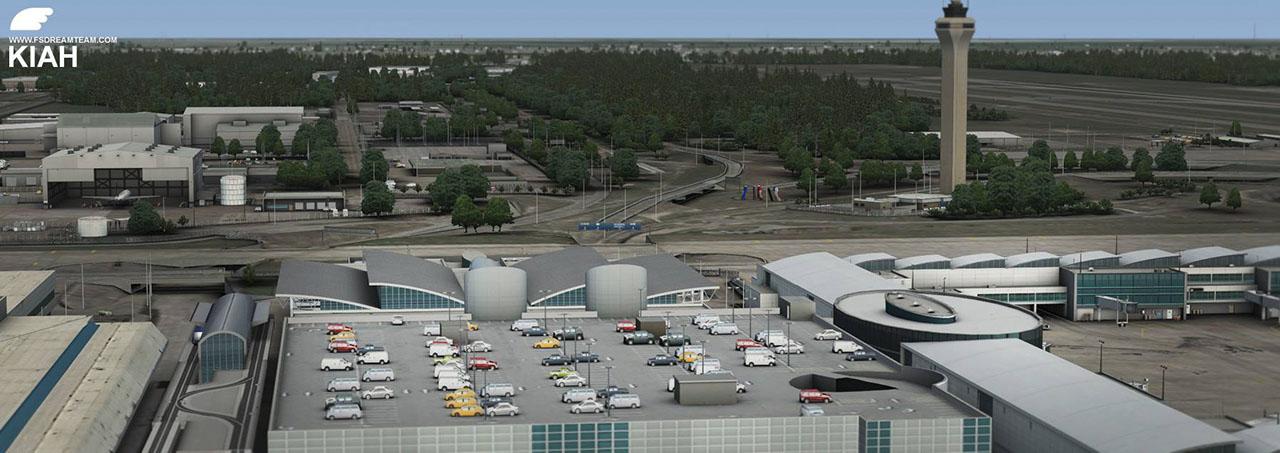 FSDreamTeam - New York airport scenery for FSX and Prepar3D