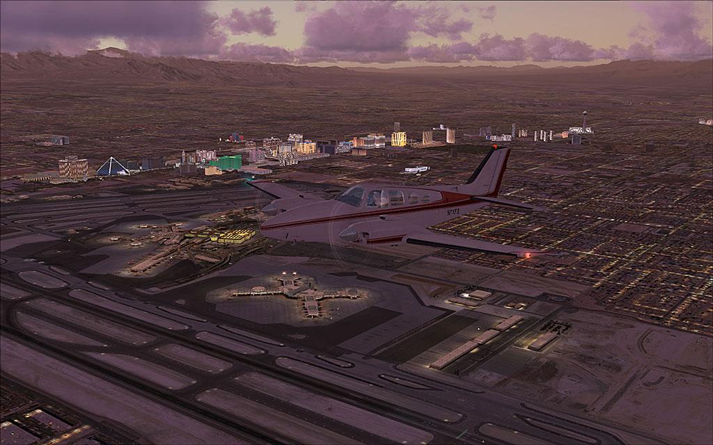 FSDreamTeam - Las Vegas McCarran airport scenery for FSX and FS9