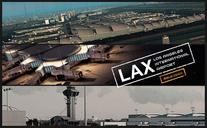 FSDreamTeam - Los Angeles LAX airport scenery for FSX and FS9