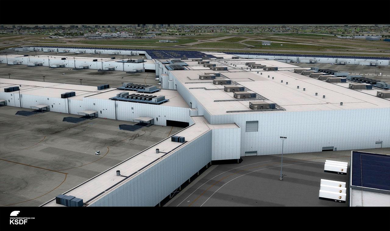 FSDreamTeam - Lousiville International Airport scenery for