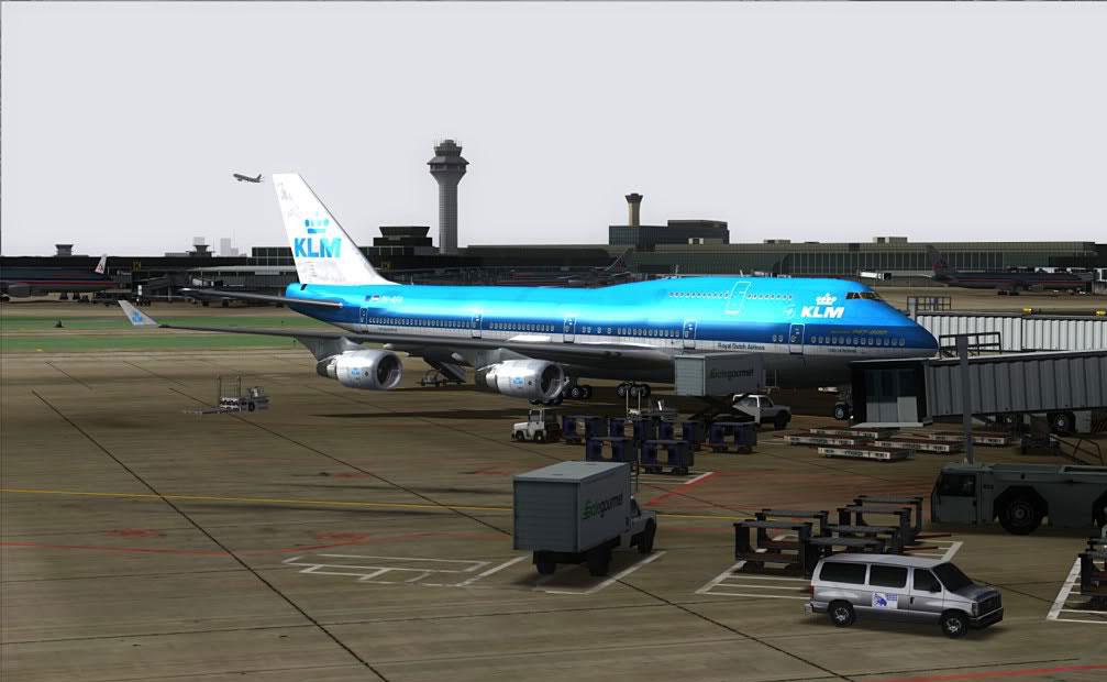 FSDreamTeam - Chicago O'Hare airport scenery for FSX and FS9