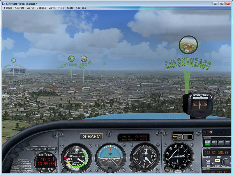 FSDreamTeam - XPOI Geographical VFR/IFR tool for Microsoft